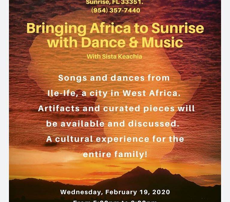 African Dance & Cultural Preservation with Sista Keachia (Achereku)